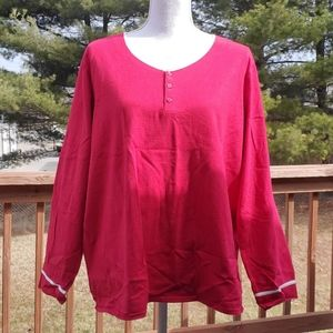 Classic elements woman 1X red top